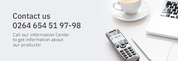 Call our Information Center for information about our products!
